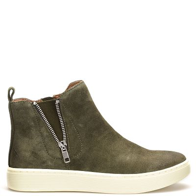 shown in Olive Suede (Green)